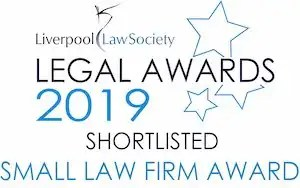 Donoghue Solicitors was shortlisted for the Liverpool Law Society Legal Awards.