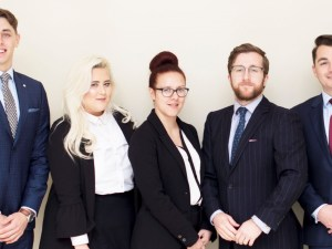 Some of the Donoghue Solicitors team.
