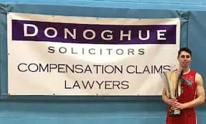 Photo of Jack Hudson, club captain at Liverpool Basketball Club and lawyer at Donoghue Solicitors.