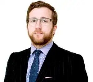 Photo of Kevin Donoghue, solicitor. He helped his client claim compensation against South Wales Police.