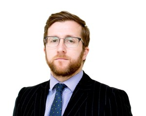 Photo of Kevin Donoghue, solicitor, who reviews a recent news story to explain how police spin doctors work.