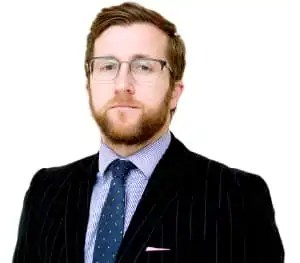 Photo of Kevin Donoghue, solicitor, who considers how the police are dealing with sexual harassment.