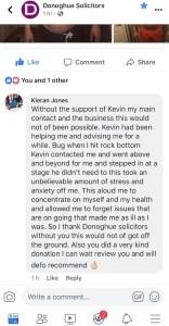 Facebook review by Kieran Jones