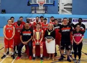 Photo of Liverpool Basketball Club senior men's team