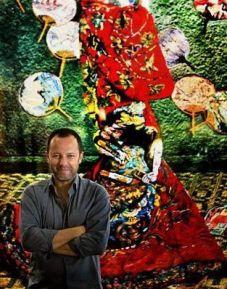 Artista plástico brasileiro Vik Muniz