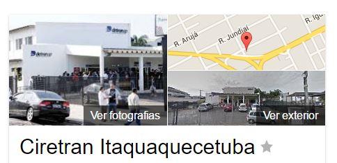 DETRAN-SP em Itaquaquecetuba