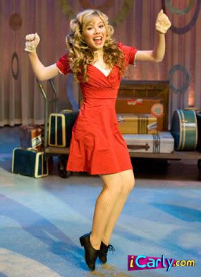 Vestido Vermelho da Sam do iCarly