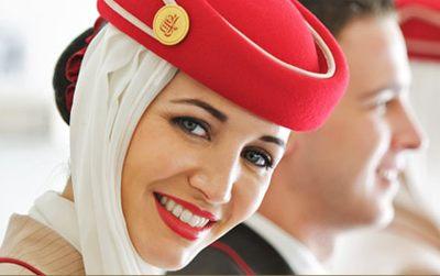 Aeromoça Emirates Airlines