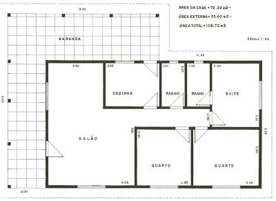casa 203 Planta de Casas Gratis, Dicas Para Sua Construção