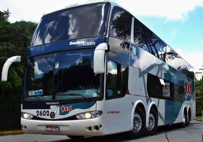Ônibus da Auto Viação 1001