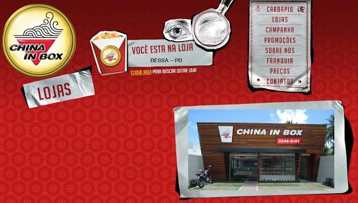 CHINA 252520IN 252520BOX Restaurante Chinês em João Pessoa, Endereço e Telefone