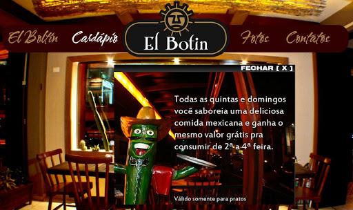 EL 252520BOTIN Restaurante Mexicano em Santo André, Endereço e Telefone