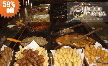 Comida no Quilo, Restaurante Carinho da Roça em Goiânia, Preços