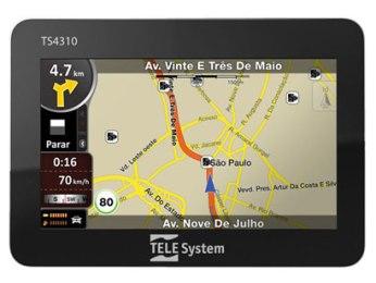 GPS Tele System em Promoção, City Lar, Preços