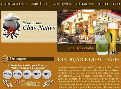 Restaurante Chão Nativo I em Goiânia, Preços