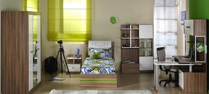 quarto jovem 5 Modelo de quarto planejado para adolescentes