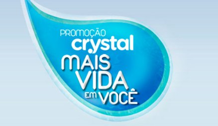 Promoção Crystal Mais Vida em Você Promoção Crystal Mais Vida em Você, Como Participar
