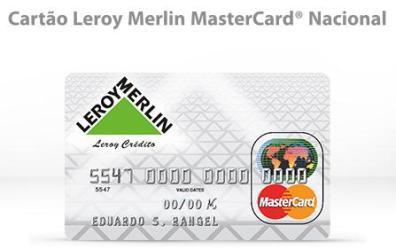 cartao leroy merlin mastercard 11 Consultar Cartão Leroy Merlin Pela Internet