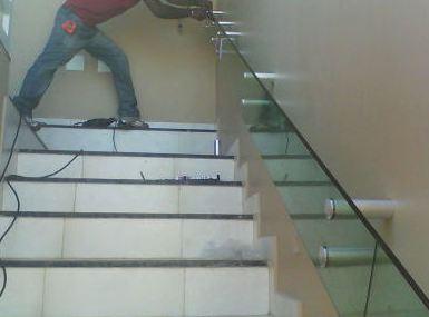 Corrimão de Vidro Blindex Para Escada 1 Corrimão de Vidro Blindex Para Escada
