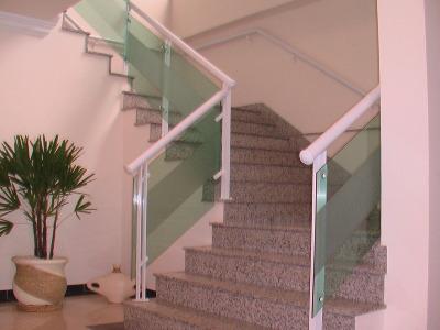 Corrimão de Vidro Blindex Para Escada 3 Corrimão de Vidro Blindex Para Escada