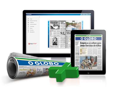 Jornal O Globo - Assinatura e Edição Digital