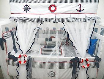 Decoração-de-Marinheiro-Para-Quarto-do-Bebê-3