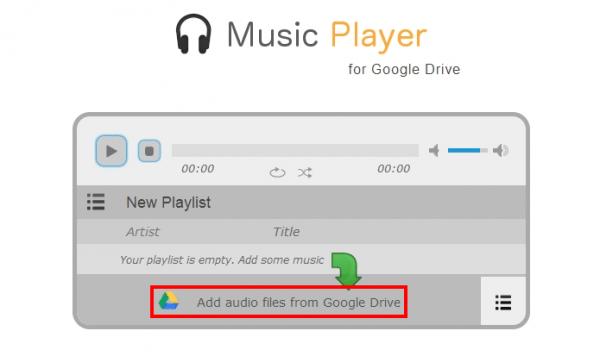 Como Escutar Música no Google Drive