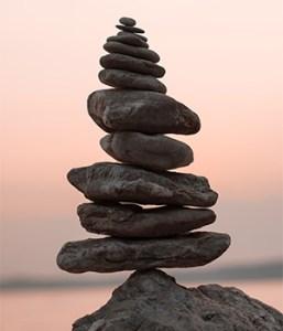 Empillements de pierres