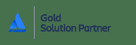 Atlassian Gold Solution Partner logo