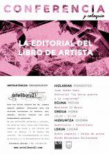 conferencia22Marzo. Edit. Libro de Artista (566x800)