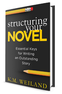Structuring Your Novel by K.M. Weiland (PenForASword, 2013)