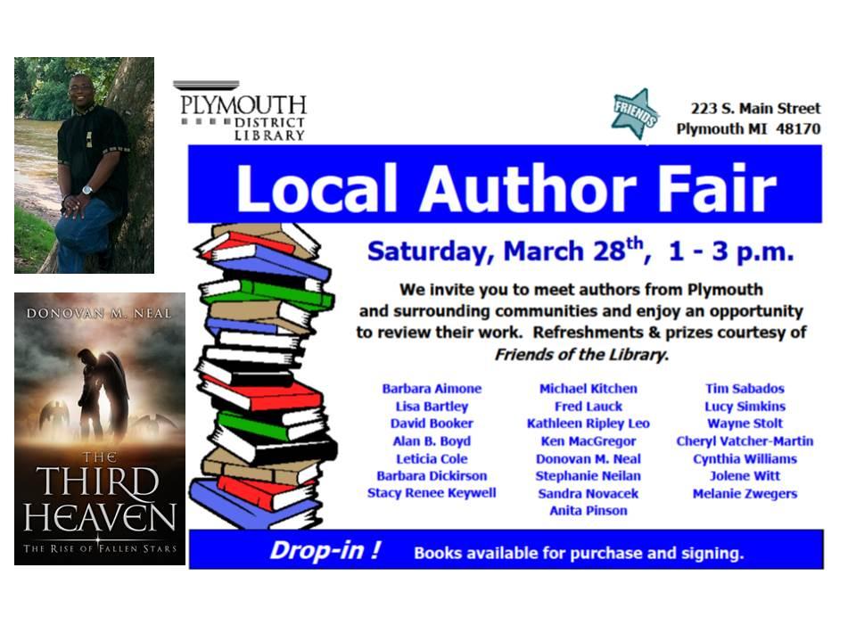 Plymouth Author Fair