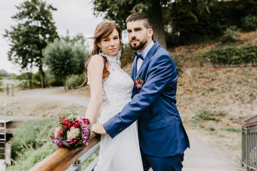 Schlosspark-Hochzeit im Schloß Landestrost