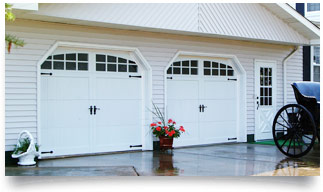 Carriage House Overlay Garage Doors in Denver, CO - Don's Garage Doors
