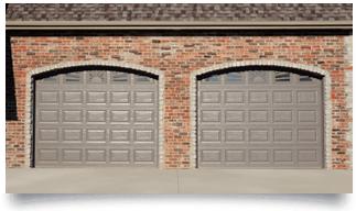 Raised Panel Glass Garage Doors in Denver, CO
