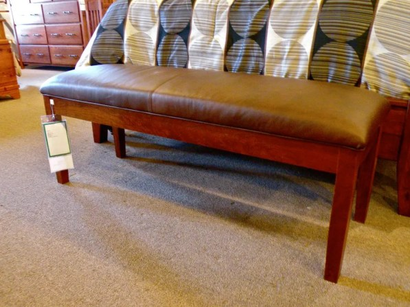 Padded End-of-Bed Seat Fully Customizable. Please contact us for pricing details.