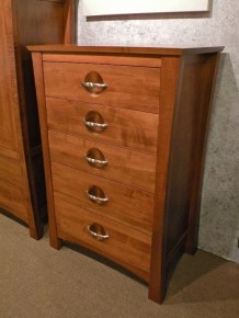 Providence Chest of Drawers Wood Species Shown: Brown Maple Fully Customizable. Please contact us for pricing details.