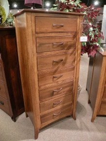 Metro Lingerie Chest Wood Species Shown: Brown Maple Fully Customizable. Please contact us for pricing details.