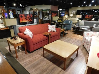 Providence Living Room Pieces Shown: - Coffee Table - Large End Table - Small End Table