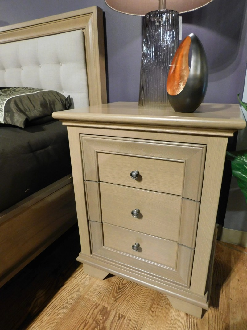 """Pacific Heights 3-Drawer Nightstand Wood Species Shown: Rustic Quartersawn White Oak Dimensions: 24""""W x 20""""D x 29.75""""H Fully Customizable. Please contact us for pricing details."""