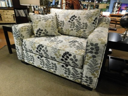 Central Avenue Chair and A Half Shown in Gr. 15 #2638 Alfresco Winter Pillow in Same Partially Customizable. Please contact us for pricing details.