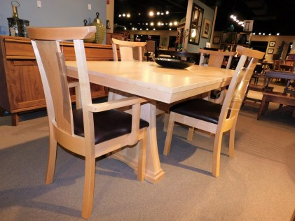 Bridgeview Table & Madison County Chairs *This piece is no longer shown on our sales floor but is still available to order.
