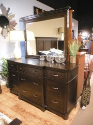 Hamilton Dresser and Mirror - Nisley Fully Customizable. Please contact us for pricing details.