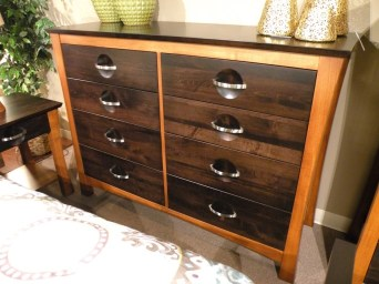 Providence Tall Dresser Wood Species Shown: Brown Maple Fully Customizable. Please contact us for pricing details.