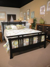 Shinto Bed - Fredricksburg Wood Species Shown: Brown Maple Fully Customizable. Please contact us for pricing details.