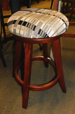 Turnstone Swivel Padded Stool Wood Species Shown: Brown Maple Fully Customizable. Please contact us for pricing details.