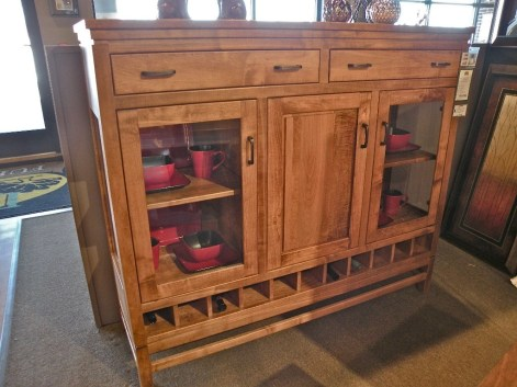 Lynnwood Buffet - Townline Wood Species Shown: Brown Maple Fully Customizable. Please contact us for pricing details.