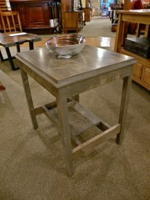 Metropolitan Large End Table Fully Customizable. Please contact us for pricing details.