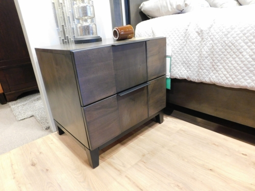 American Modern B2D2 2-Drawer Nightstand