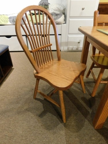 Child's Sheafback Chair with Fancy Legs